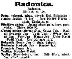 radonice