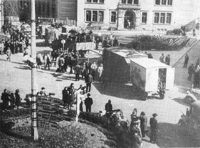 ustup-nemeckych-vojsk-v-tabore