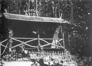 chata Samotárna u Pořežan