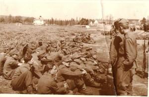 Němečtí zajatci u Soběslavi.