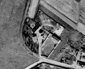 Areál budějovické pohodnice v roce 1946