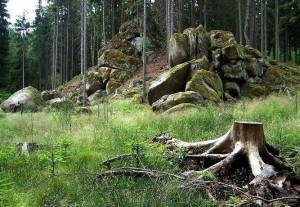 Skalní útvar Masné krámy (foto: Ivan Kozlík)